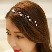 韓國氣質女生新款ins閃光發飾飾品珠珠發卡森系仙女空氣超 潮流衣舍