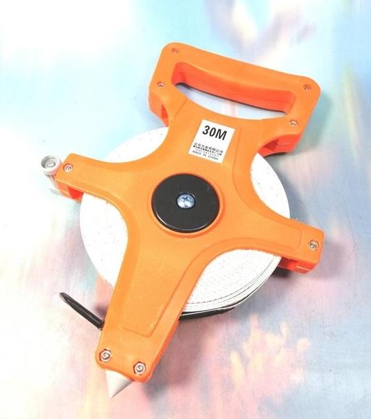 螺牌 手提尼龍布尺30M/100英尺 96-04【94196045】捲尺 布尺 手工具 測量工具《八八八e網購