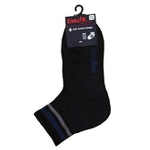 EF直角運動襪-黑(22~24cm)【愛買】