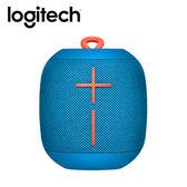 Logitech 羅技 UE WONDERBOOM 藍芽喇叭 藍色【買就送★透明文件袋】