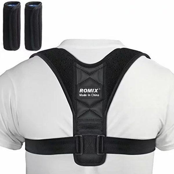 ROMIX 背背佳 矯正帶 防駝背 矯正器 兒童 學生 成人 糾正 透氣 可調節 矯正脊椎