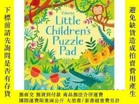 二手書博民逛書店Little罕見Children's Puzzle Pad-兒童益智板Y465786 Kirstee