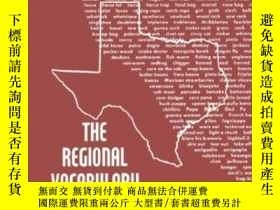 二手書博民逛書店The罕見Regional Vocabulary Of Texa
