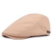 鴨舌帽-簡單純色百搭棉質男女貝雷帽4色73tv109[時尚巴黎]
