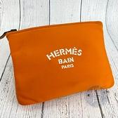 BRAND楓月 Hermes 愛馬仕 POUCH 手提包 化妝包 配件 配飾 外出包 隨身包 經典橘色