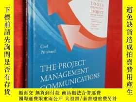 二手書博民逛書店The罕見Project Management Communic