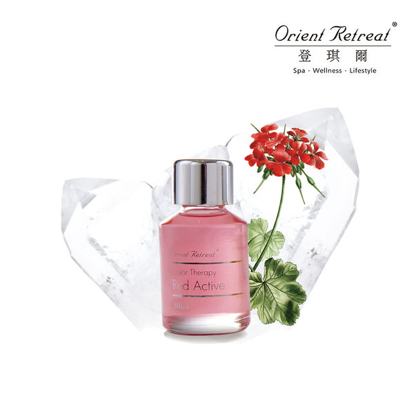 【Orient Retreat登琪爾】五色礦彩油-活力紅 Red Active (30ml/瓶)