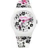 【台南 時代鐘錶 Superdry】極度乾燥 美式和風 文化衝擊潮流腕錶 SYL177WB 38mm
