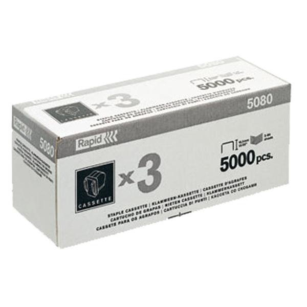 RAPID 瑞典 5080專用 電動訂書針 釘書針 5000針/盒 三入