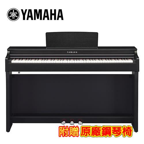 【敦煌樂器】YAMAHA CLP-625 B 88鍵標準數位電鋼琴 經典黑色款