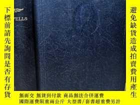 二手書博民逛書店TONO-BUNGAY罕見AND AMODERN UTOPIA BY H.G.WELLS 韋爾斯小說布面精裝版 1