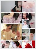 彼岸花紋身貼 防水女持久 鎖骨曼珠沙華貼紙 地獄少女可愛性感刺青