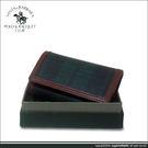 【Santa Barbara Polo 聖大保羅】綠格紋6環鑰匙包SB38-01307