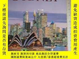 二手書博民逛書店Seven罕見Days In Sydney The Guide to Sydney Australia 銅版彩色印