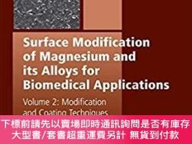 二手書博民逛書店預訂Surface罕見Modification of Magnesium and its Alloys for B