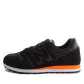 New Balance ML373MB D [ML373MB] 男 休閒 經典 慢跑鞋  黑  橘