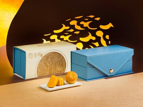 【皇玥】迷你奶黃月餅禮盒