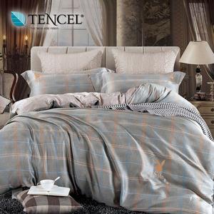 【貝兒居家寢飾生活館】PLAYBOY 100%萊賽爾天絲兩用被床包組(加大/安蒂雅)