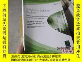 二手書博民逛書店reference罕見services review 2013