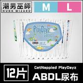 ABDL 成人紙尿褲 成人尿布 紙尿布 一包12片 | PlayDayz diaper 成人 寶寶