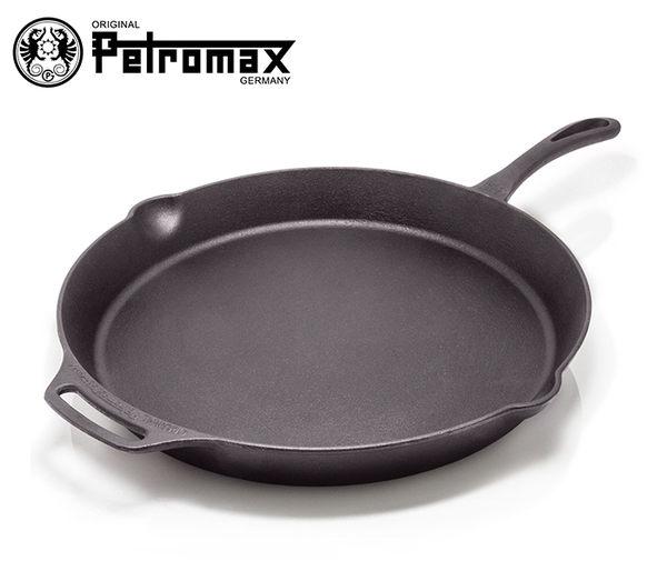 丹大戶外【Petromax】德國 FIRE SKILLETS 單柄鑄鐵煎鍋 40CM fp40-t