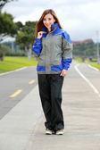 M2R兩件式風雨衣,M11,灰藍