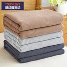 夏季薄款純棉紗布毛巾被子單人雙人辦公室空調蓋毯午睡沙發小毯子 夢幻小鎮ATT