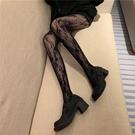 蕾絲襪 秋冬季鏤空蕾絲長襪