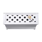 收納櫃 置物架 收納 衣櫃【R0194-A】黑點點白底Kitty大嘴鳥整理箱46L(4入) MIT台灣製 樹德 收納專科