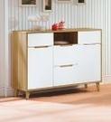 【南洋風休閒傢俱】餐櫃系列- 肯詩特烤白雙色3.6尺餐櫃 碗碟櫃 櫥櫃 碗盤櫃 收納櫃 置物櫃 CX837-3