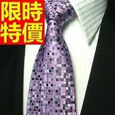 領帶 男配件-流行結婚商務桑蠶絲真絲質55g17【巴黎精品】
