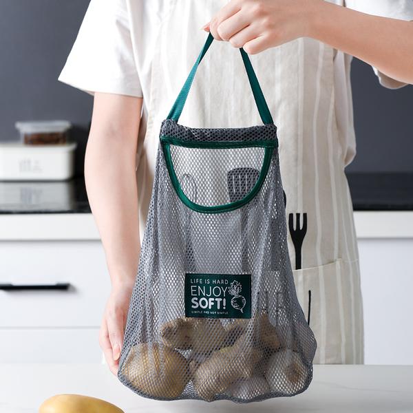 蔬果透氣收納網袋 DIE1289 蔬果收納 塑膠袋 環保袋