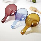 水瓢透明塑料水勺水舀子嬰兒洗頭洗澡水勺【不二雜貨】