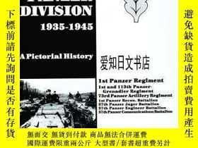 二手書博民逛書店【罕見】The 1st Panzer Division 1935-1945Y175576 Horst Rieb
