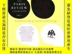 二手書博民逛書店巴黎評論罕見首輯 英文原版 The Paris Review Interviews,Vol. 1 Philip G