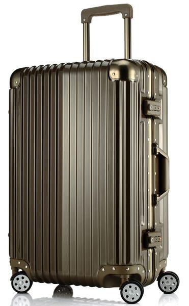 ARTBOX 超次元 - 29吋 輕量PC鏡面鋁框行李箱(墨綠金)
