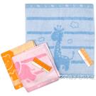 SC555K 雙星 童趣動物方巾 擦手巾...