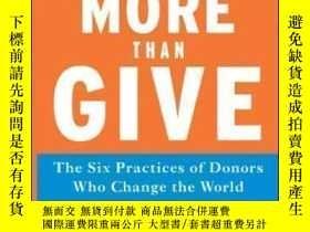 二手書博民逛書店Do罕見More Than Give-做的不僅僅是付出Y436638 Leslie R. Crutchf...