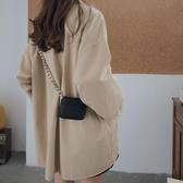 包包女粗鏈條腰包零錢胸包迷你小包時尚【雲木雜貨】