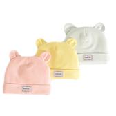 初生寶寶帽 雙層胎帽 新生嬰兒帽 套頭帽(3-6個月) DL1352 好娃娃