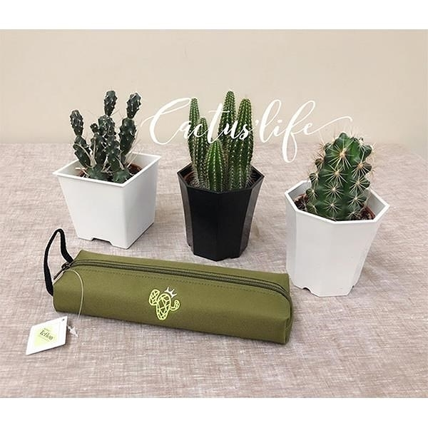 【南紡購物中心】Cactus′ Life|仙人掌美學筆袋