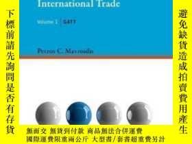 二手書博民逛書店The罕見Regulation Of International Trade: Gatt (mit Press)