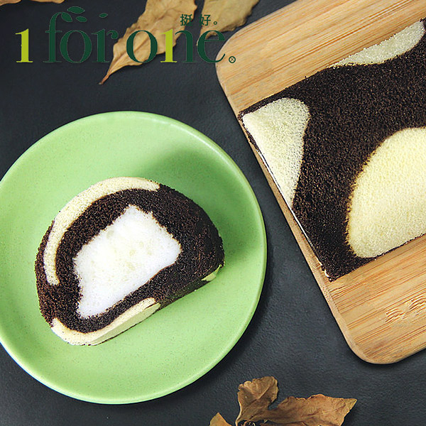 1 for one.巧克力鮮奶凍捲(420g/條)(共3條)﹍愛食網