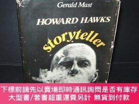 二手書博民逛書店Howard罕見Hawks, Storyteller-霍華德·霍克斯,講故事的人Y414958 Gerald