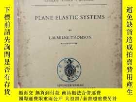 二手書博民逛書店plane罕見elastic systems(P296)Y173412