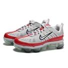 NIKE 慢跑鞋 WMNS VAPORMAX 360 白紅 氣墊 女 (布魯克林) CK2719-001