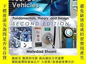二手書博民逛書店Modern罕見Electric, Hybrid Electric, And Fuel Cell Vehicles