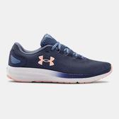 UNDER ARMOUR UA Charged Pursuit 2 女鞋 慢跑 輕量 透氣 緩震 舒適 藍粉【運動世界】3022604-401