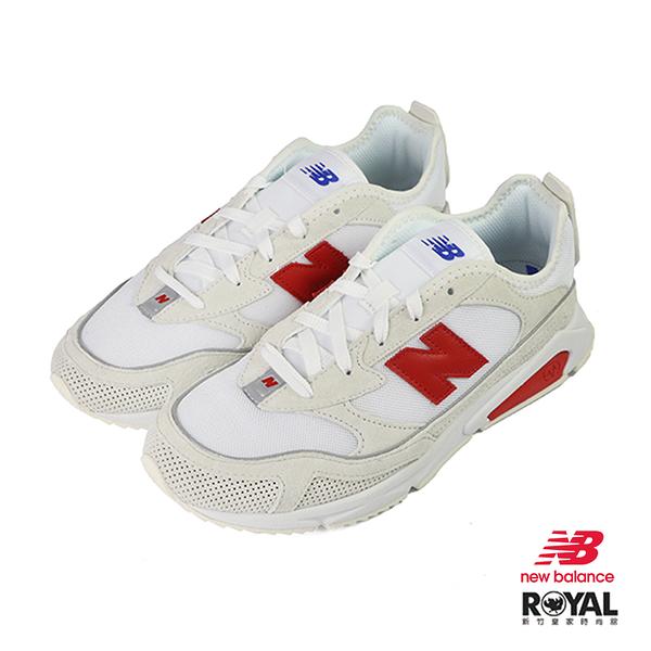 New Balance X-Racer 白色 網布 休閒運動鞋 男女款 NO.B0797【新竹皇家 MSXRCSLD】