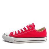 CONVERSE Chuck Taylor All Star -男女基本款低筒紅色休閒鞋-  NO.M9696C